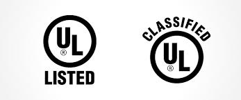 Ul Listing And Classification Marks Ul