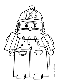 coloring book info thomas new robocar poli coloring pages roy for kids printable free