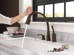 faucet 980t ar dst in arctic stainless delta regarding bronze