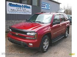 2004 Chevrolet TrailBlazer LS 4x4 in Medium Red Metallic - 405331 ...