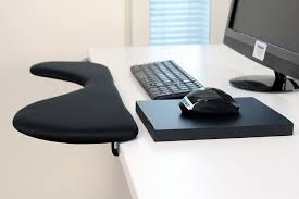 ergonomic arm rest pauner tm forearm support desk for computer better than a keyboard wrist rest works well with ergonomic keyboard and mouse