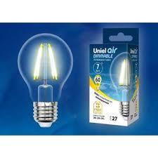 Купить <b>Лампа LED</b> E27 <b>7Вт</b> 3000К 630Lm 220В груша DIM AIR ...