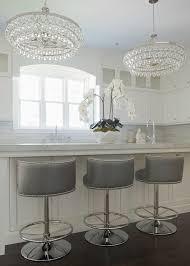 grey counter stools with nailheads. Exellent With Grayswivelbarrelbackcounterstoolssilvernailheadtrim On Grey Counter Stools With Nailheads