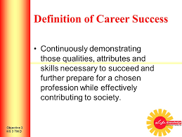 Career Success Definition How Do I Obtain Career Success Introduction To Personal