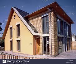Einfamilienhaus Anhang Haus Wohnhaus Holzfassade