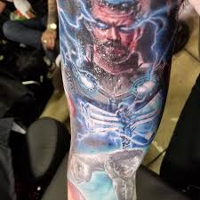 At Lorneondrums Lorne Walker New Thor Tattoo Added To My Marvel