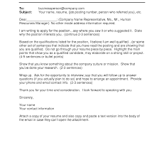 Cover Letter Email Example Nardellidesign Com Sample For Job