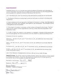 notice of violation template ledgebridge vista rules enforcement luxury hoa violation letter