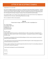 Accept Offer Letter Reply Sample Letter Of Accepting Job Offer Radiovkm Tk