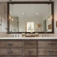 adorable sample bathroom pendant lights wooden component cabinetary mirror framed washbasin sink bathroom pendant lighting