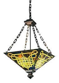 decoration craftsman interior lighting mission style
