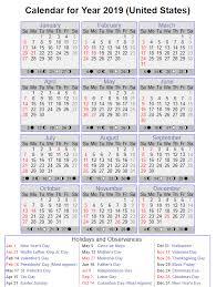 Office Com Calendar Templates Year 2019 Calendar United States 2 With Calendars Office Com
