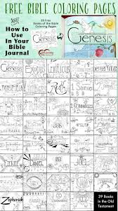 Free Books Of The Bible Coloring Pages Craft Ideas Bible