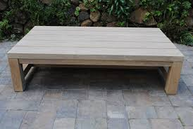 teak coffee table outdoor awesome indosoul geneva coffee table with full teak the patio district therefugecoffee com