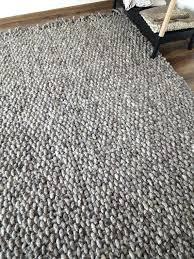 8x10 wool rug woven gray area rugs handwoven thomasville