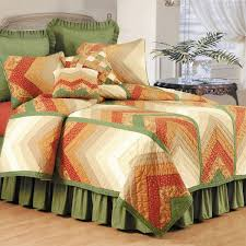 Chevron Nature Quilt (Shams Not Included) - On Sale - Free ... & Chevron Nature Quilt (Shams Not Included) Adamdwight.com