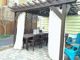 deck curtains deck with pergola and outdoor curtains deck curtains nz