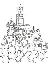 Pagine Da Colorare Stampabili Castello Principesse Da Colorare