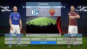 FC Schalke 04 vs AS Roma, Veltins-Arena, PES 2016, PRO EVOLUTION SOCCER  2016, Konami - YouTube