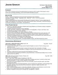 Exciting Chemical Engineering Internship Resume Examples 362552