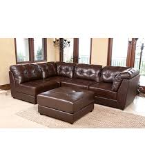 leather sectional living room furniture. Erica Leather Sectional, Brown. Home; Products; Living Room Sectional Furniture