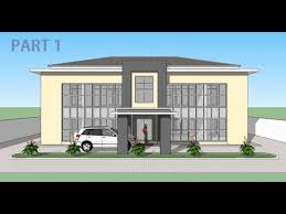 building an office. Sketchup Make An Office Building Part 1 I