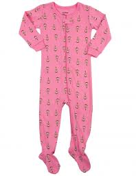 Leveret Baby Girl BallerinaCotton Footed Sleeper Pajama (6M-5Y)