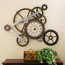 oversized chellis wall clock gear