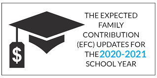 2018 Efc Chart The Expected Family Contribution Efc Updates For The 2020