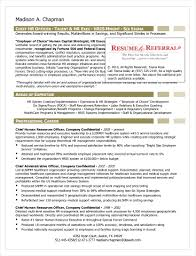Chief Hr Officer Sample Resume 24 HR Resume Examples PDF 15