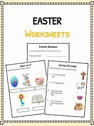 Easter Facts, Worksheets & Fun Information For Kids