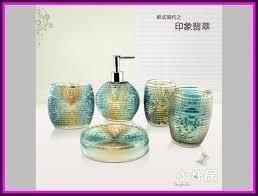home design nice idea accessories bathroom pictures sets crystal glass crystal glass bathroom accessories set