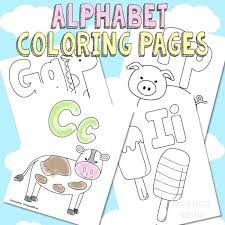 Alphabet Coloring Sheets Get The Free Printable Alphabet Coloring