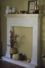 artistic faux fireplace mantels in fake diy mantel shelf templum