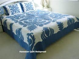welcome hawaiian quilt bedding print quilted bedspreads