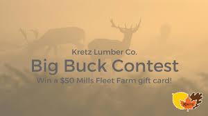 kretz lumber pany 2017 big buck