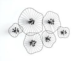 wire wall art decors wire wall decor beauteous iron wire fl wall design wire wall art
