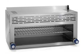 imperial range icma 36 36 commercial infra red gas countertop cheesemelter broiler