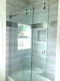 frameless sliding shower door roller and bracket set cool roller shower door shower stall door installation