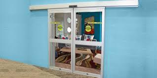 Commercial Sliding Doors | Industrial Glass Entry Doors | ASSA ABLOY