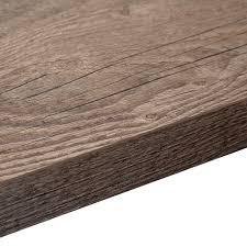 38mm Mountain Timber Laminate Wood Effect Square Edge Worktop (L)3000mm  (D)600mm | Departments | DIY at B&Q