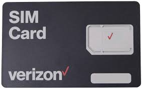 Traditional sim cards have a few different sizes to choose from as well: Amazon Com Verizon Wireless 4g Lte Sim Card All 3 Sizes 3 In 1 Nano Micro Standard Sizes 4ff 3ff 2ff Cell Phones Accessories