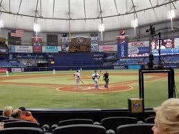Tropicana Field Section 101 Home Of Tampa Bay Rays