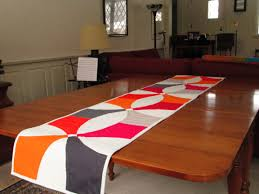 modern table runner modern rooms colorful design interior amazing