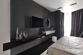 Graphy Bedroom Black And White Graphic Decor