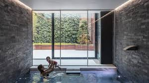 basement pool house. Glass Box Defines Extension With Basement Pool For Victorian Home In South London House U