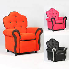 recliner chairs for kids. Brilliant For Children Recliner Kids Sofa Chair Couch Living Room Furniture Black Pink  Orange Inside Chairs For E