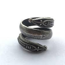 valknut odin s symbol viking slavic world snake ring silver ring pagan jewelry