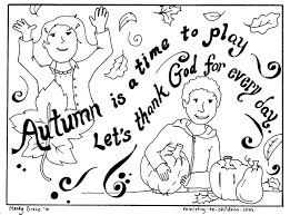 Christian Thanksgiving Coloring Pages For Kids Printable Coloring