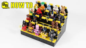 Lego Display Stands HOW TO MAKE A LEGO BATMAN MOVIE MINIFIGURE DISPLAY STAND YouTube 39